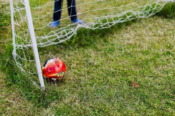 Sport dans le jardin